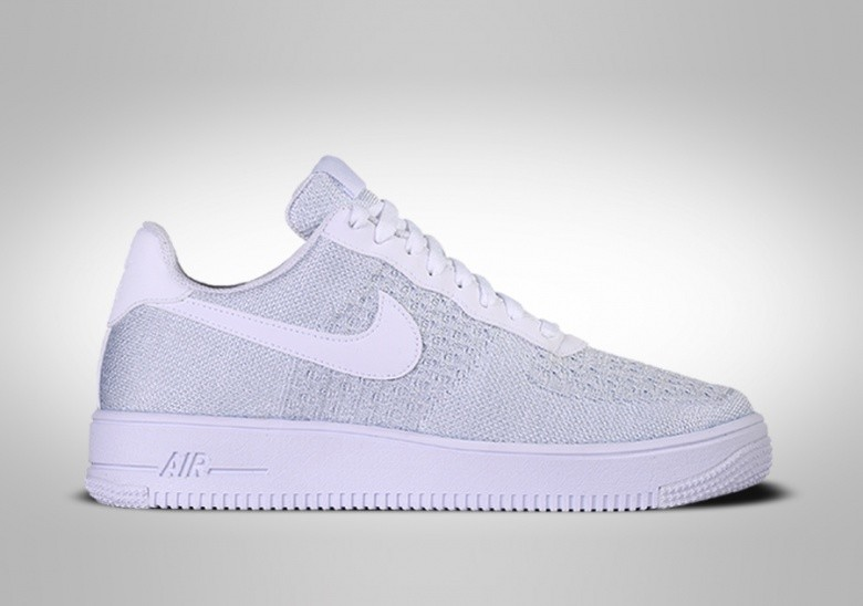 NIKE AIR FORCE 1 LOW FLYKNIT 2.0 PURE PLATINIUM price €127.50 ...