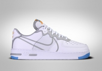 NIKE AIR FORCE 1 LOW REACT WHITE GREY BLUE
