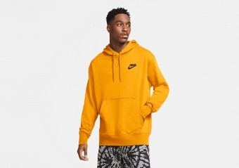 NIKE GIANNIS 'FREAK' PULLOVER HOODIE UNIVERSITY GOLD
