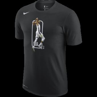 NIKE NBA MILWAUKEE BUCKS PLAYER LOGO DRI-FIT TEE