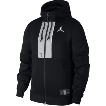 JORDAN AIR FULL-ZIP FLEECE HOODIE