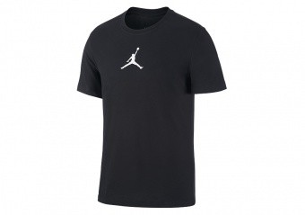 NIKE AIR JORDAN JUMPMAN DRI-FIT CREW TEE BLACK