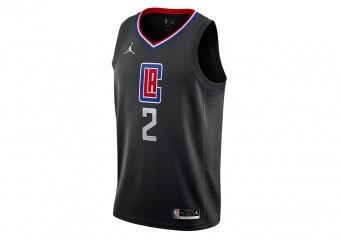 NIKE NBA LOS ANGELES CLIPPERS KAWHI LEONARD STATEMENT EDITION SWINGMAN JERSEY BLACK