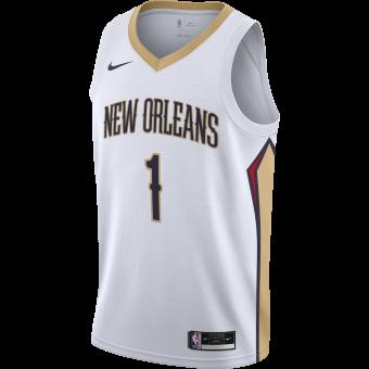 NIKE NBA NEW ORLEANS PELICANS ASSOCIATION EDITION SINGMAN JERSEY