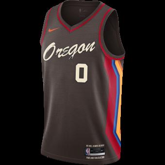 NIKE NBA PORTLAND TRAIL BLAZERS CITY EDITION SWINGMAN JERSEY