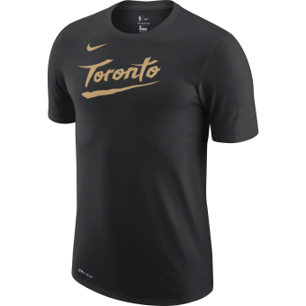 NIKE NBA TORONTO RAPTORS CITY EDITION LOGO DRI-FIT TEE