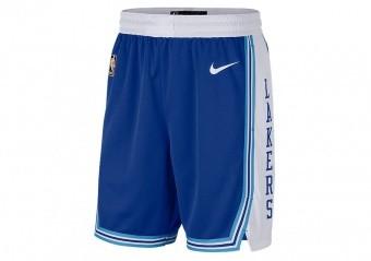 NIKE NBA LOS ANGELES LAKERS CLASSIC EDITION SWINGMAN SHORTS RUSH BLUE