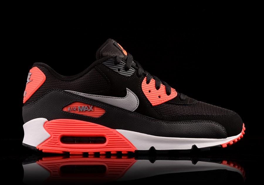 air max 90 essential black infrared
