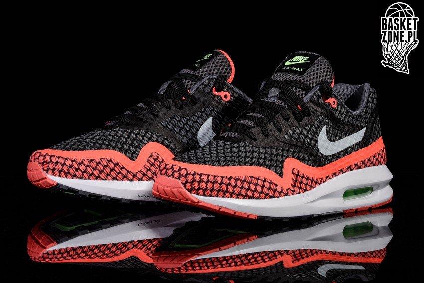 sports shoes 86550 1b16a ... coupon code for nike air max lunar1 br black hot lava ebd14 3b7b8