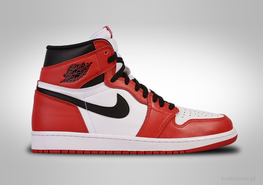 big sale b3e55 de5cd NIKE AIR JORDAN 1 RETRO HIGH OG CHICAGO Bílé cena 10582,50kč    Basketzone.net