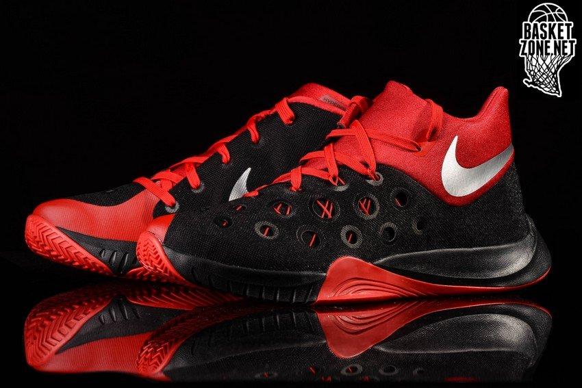 22a995ea3be11 NIKE ZOOM HYPERQUICKNESS 2015 BLACK FIRE RED price €77.50 ...